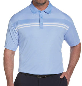 Callaway Yarn Dyed Birdseye Color Block Polo