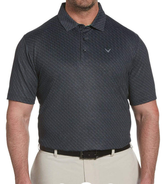 Callaway Swing Tech Chev Print Polo