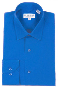 Modena Blended Broadcloth Dress Shirt... 21 Colors... 36/37 Sleeve