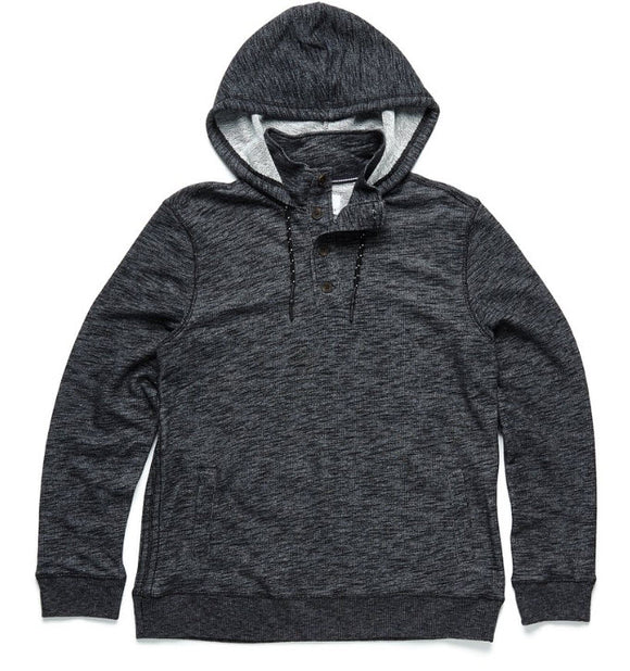 Surf Side Supply Two Tone Fleece Hooded Henley