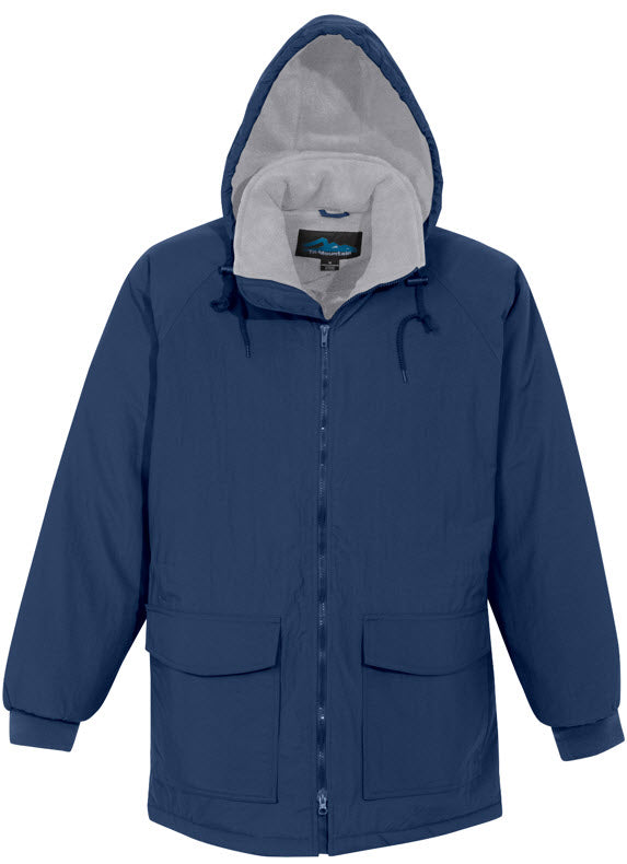 Tri-Mountain Heavyweight Nylon/Fleece Hooded Parka