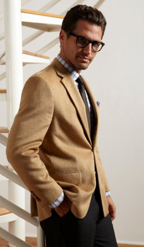 Jean Paul Gemain Pure Camelhair Sport Coat