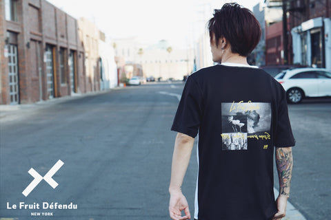 Black Graphic Streetwear Tee's for men - Lfd Fashion