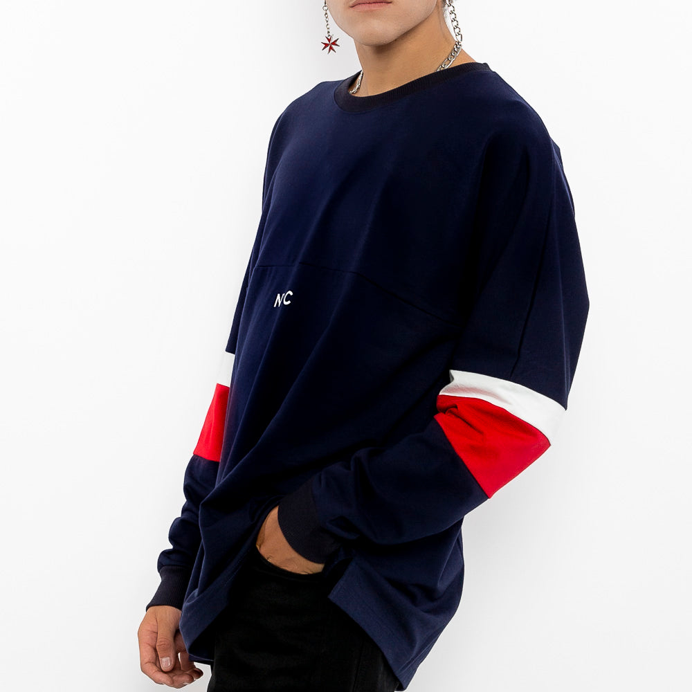 """Stimulate NYC Pullover Sweater-Men"" Comfort Fit Cotton Sweater-Le Fruit Défendu NYC-Urban Streetwear"