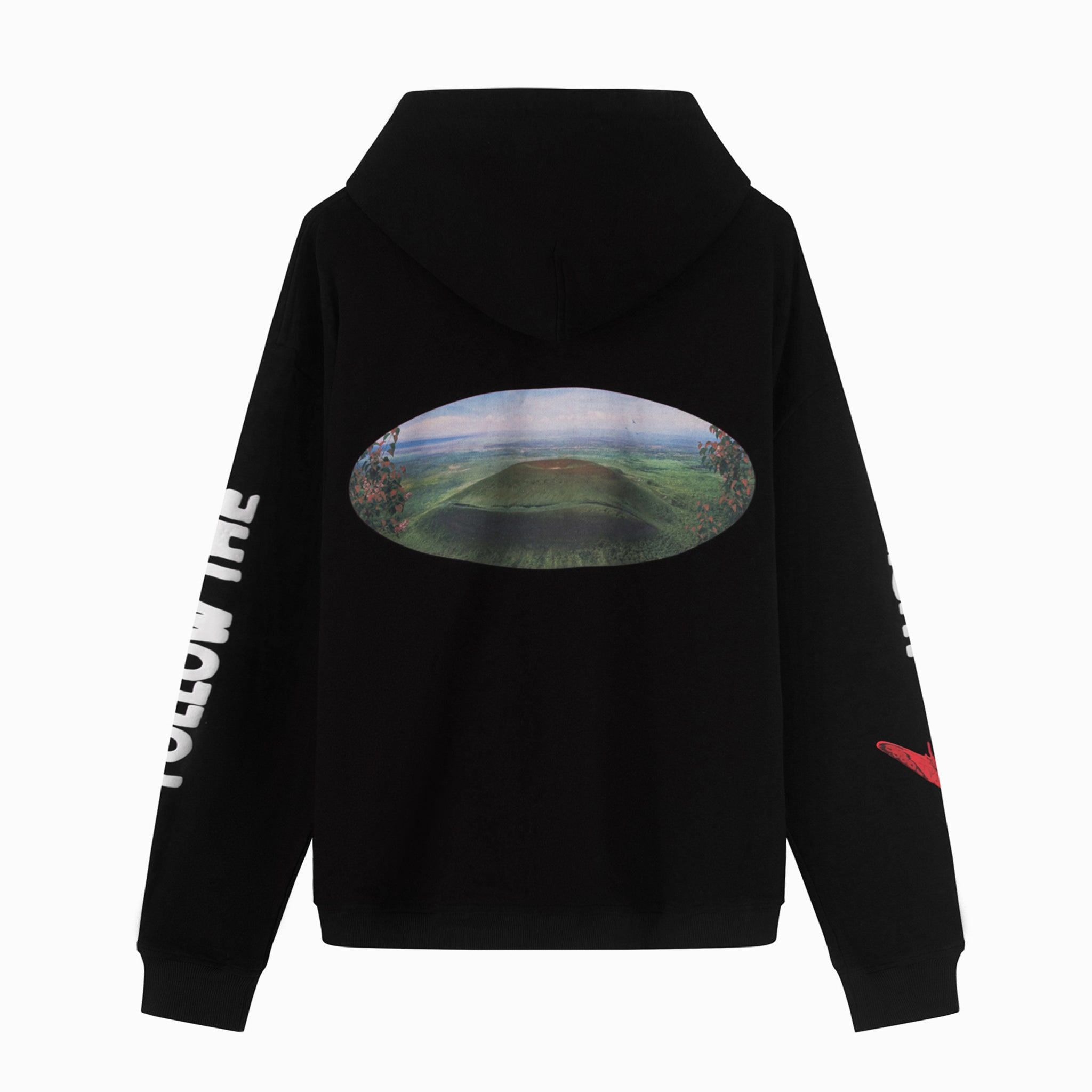 Le Fruit Defendu Brick Road Hoodie - Black