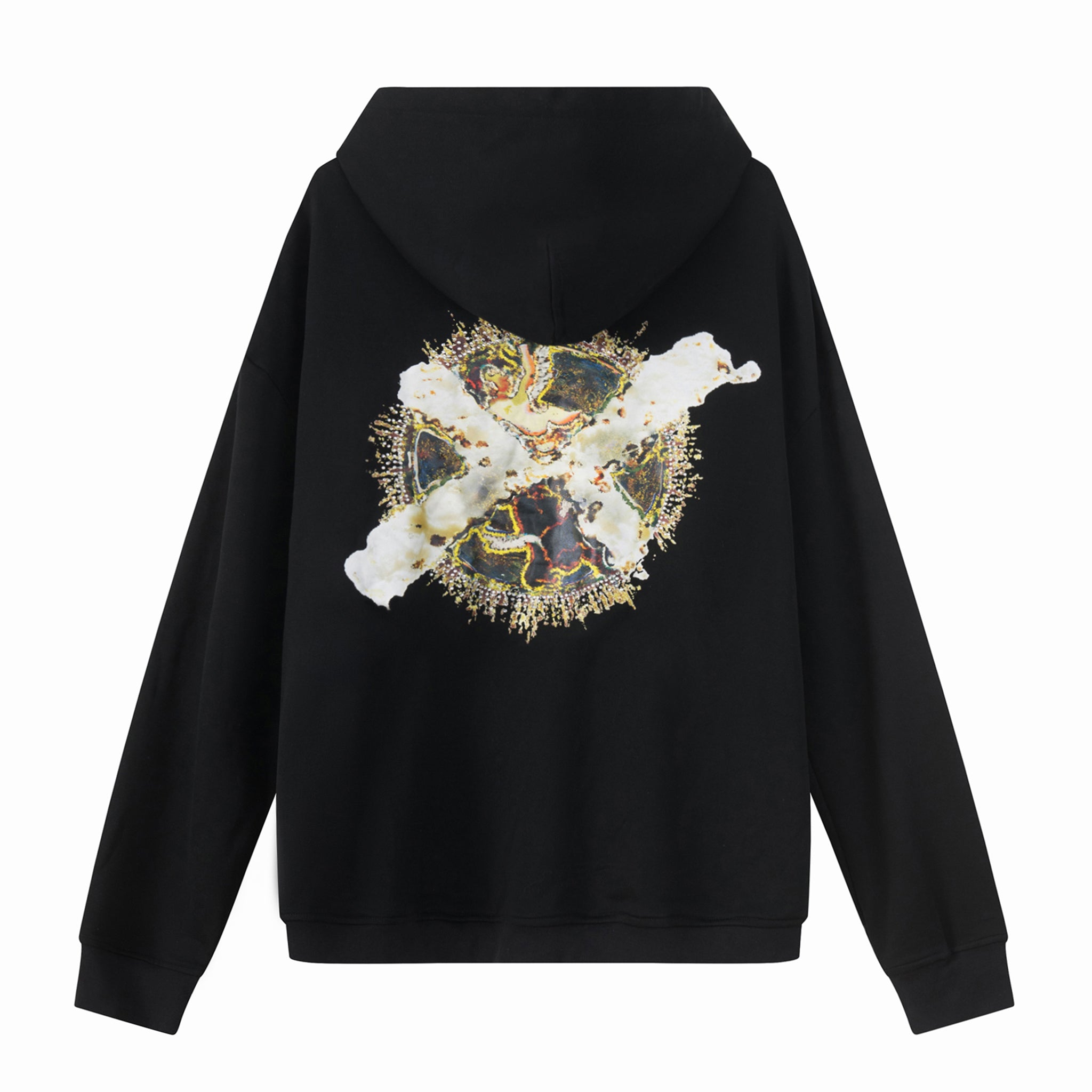 Load image into Gallery viewer, LFD X Cross Hoodie Black