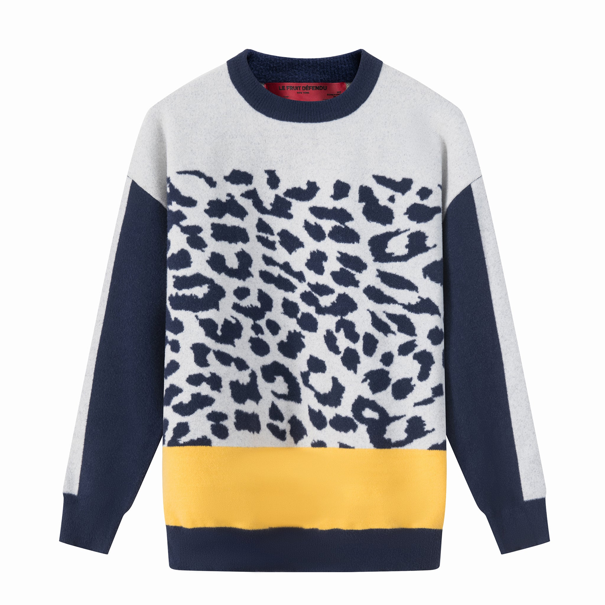 LFD Leopard Print Sweat