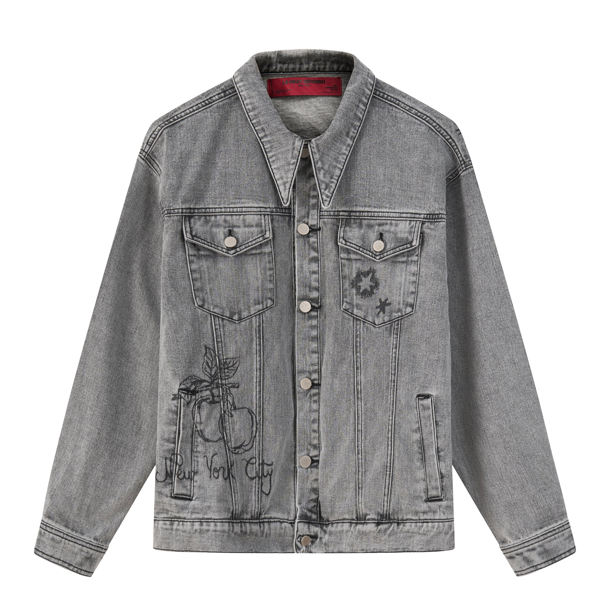 Load image into Gallery viewer, LFD Denim Jacket - Grey