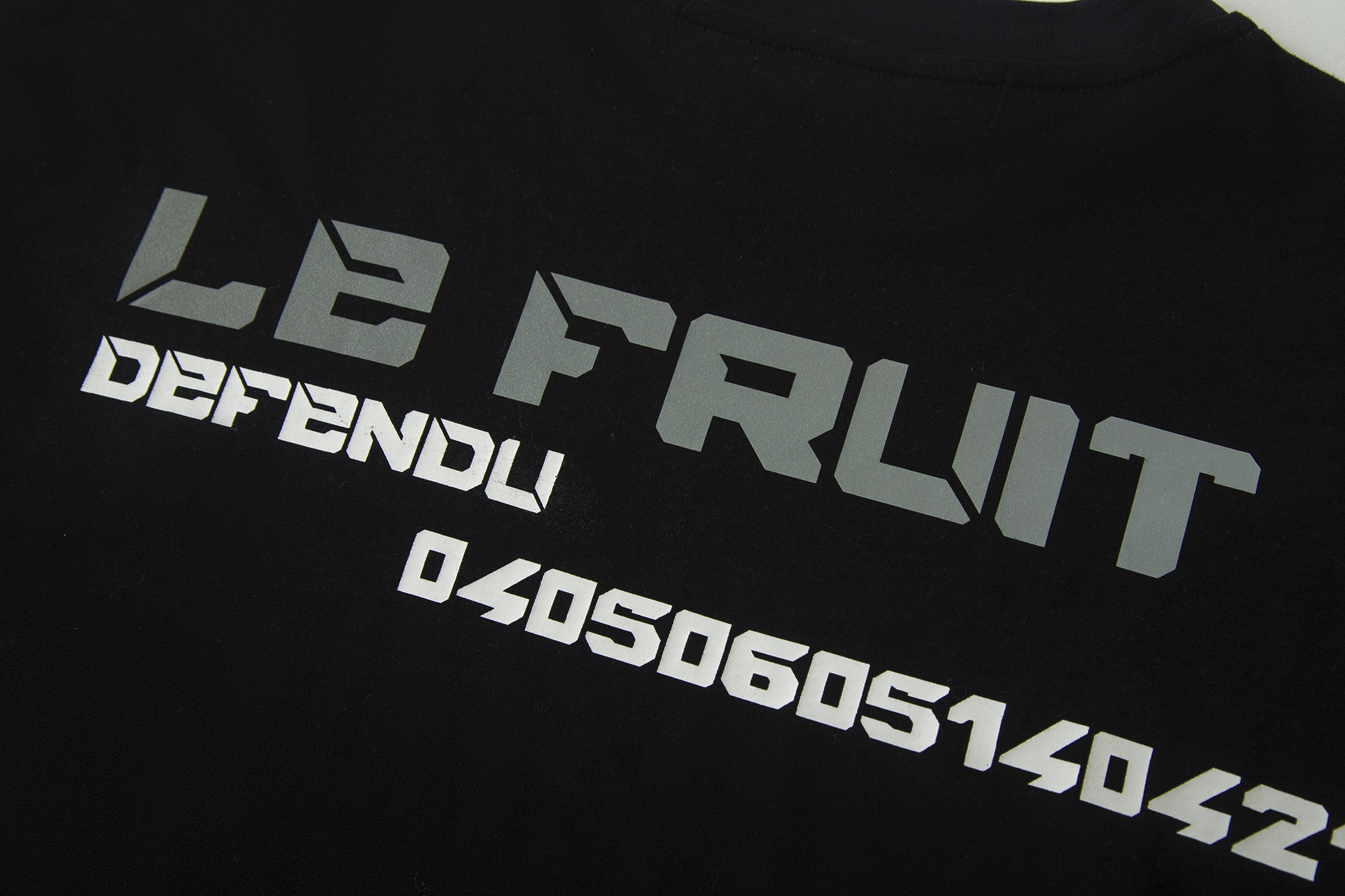Load image into Gallery viewer, Betrayal – Le Fruit Black Number T-Shirt