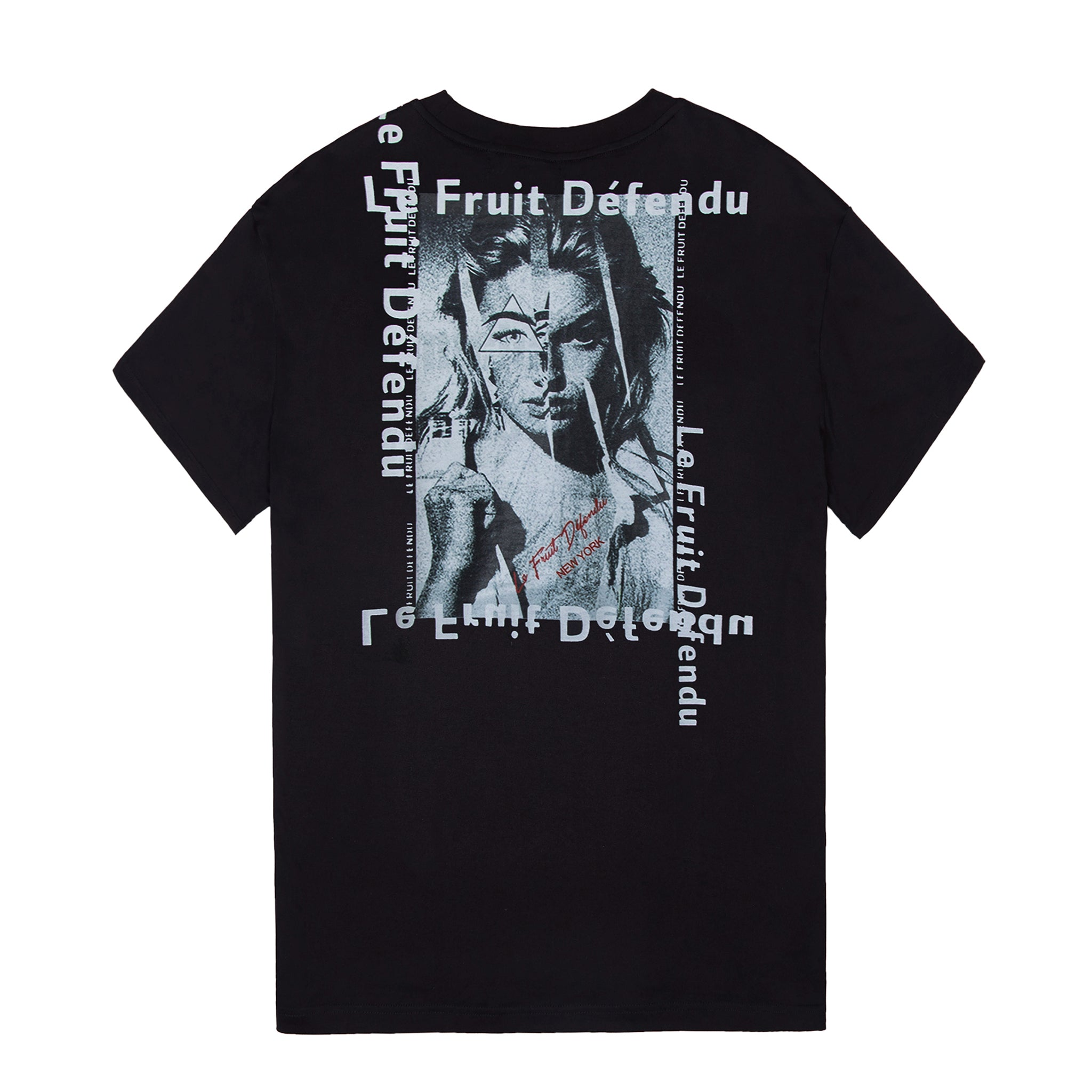 Load image into Gallery viewer, Woman in Pieces T-shirt - Black