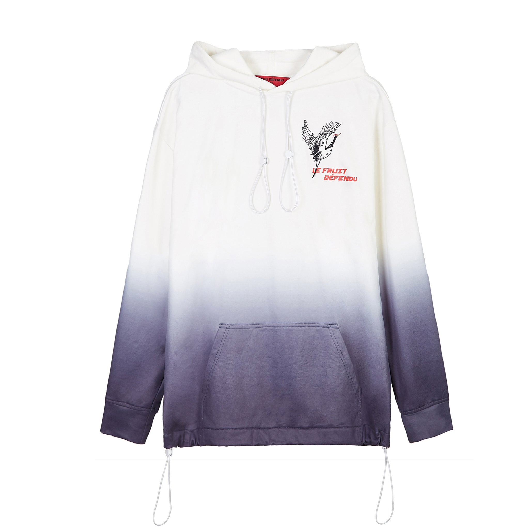 Load image into Gallery viewer, Bird Hoodie- White