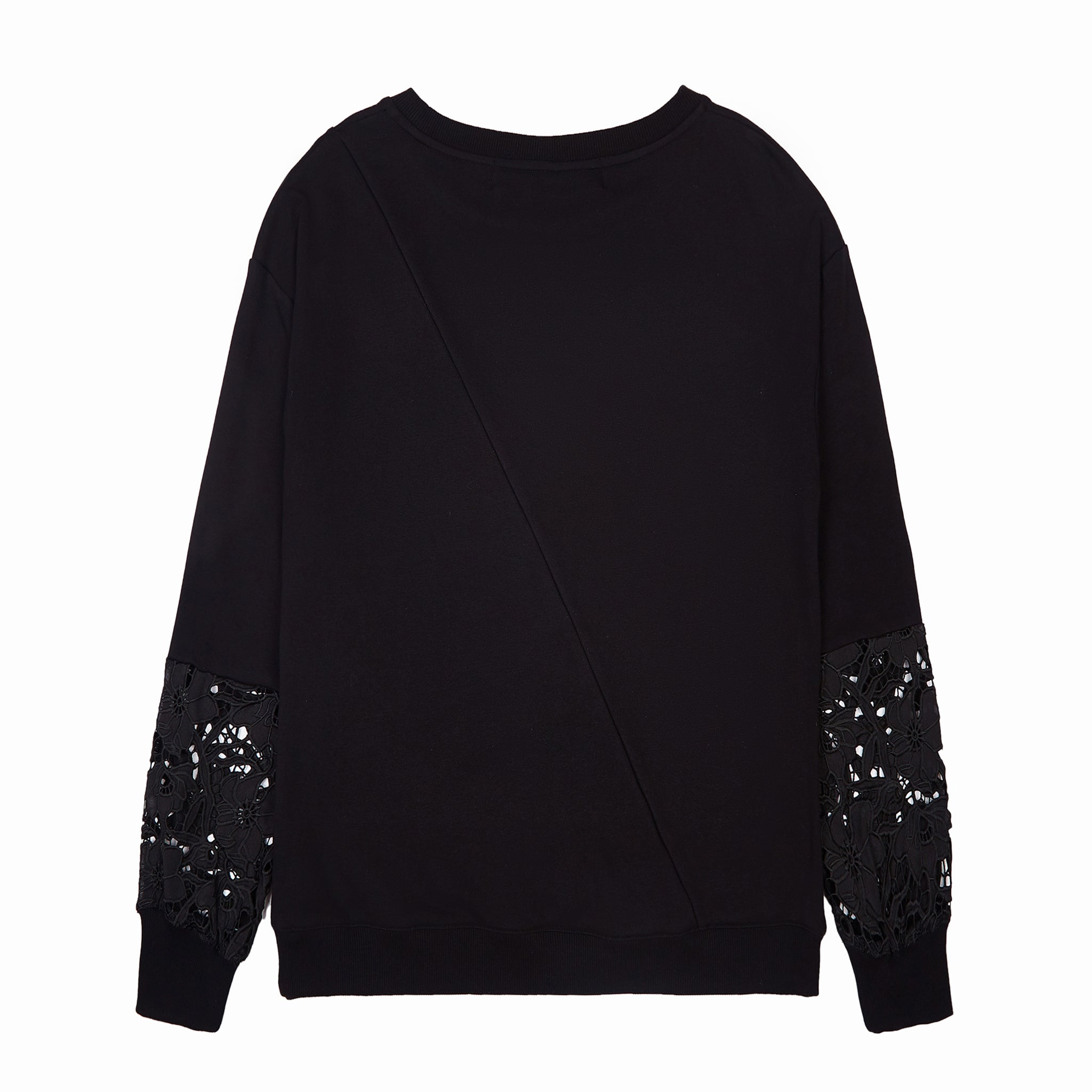 Load image into Gallery viewer, LFD Lace Sweater - Black