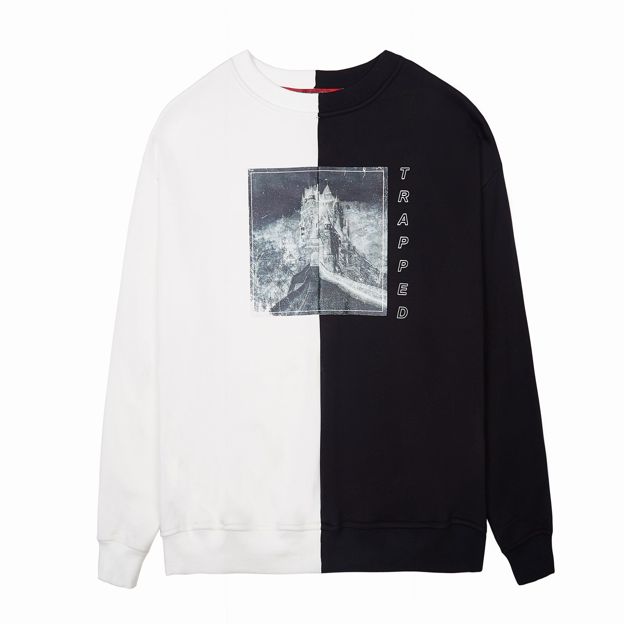 Load image into Gallery viewer, LFD Trapped Sweater - Black - White