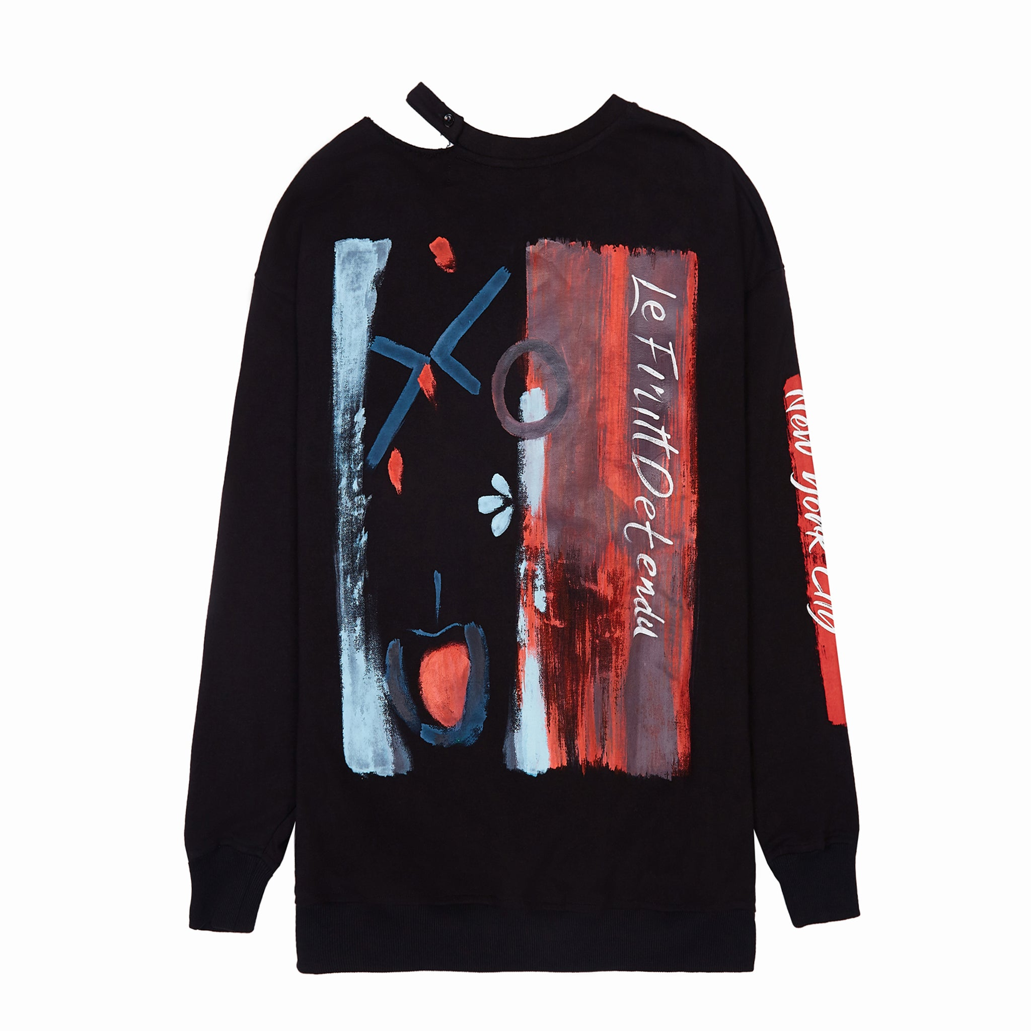 Load image into Gallery viewer, Le Fruit Defendu Betrayal Sweatshirt - Black