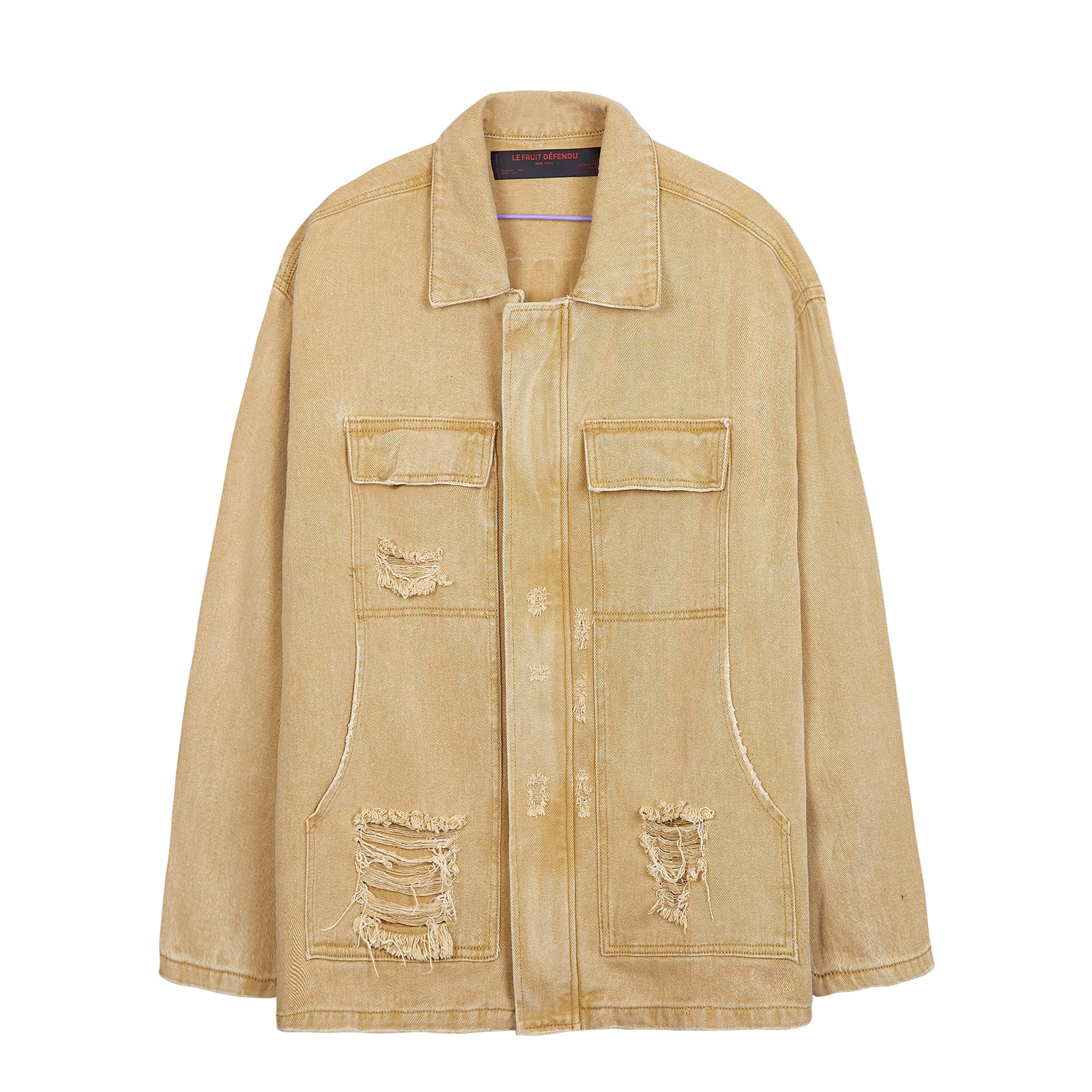 Load image into Gallery viewer, LFD Distressed Work Jacket - Brown