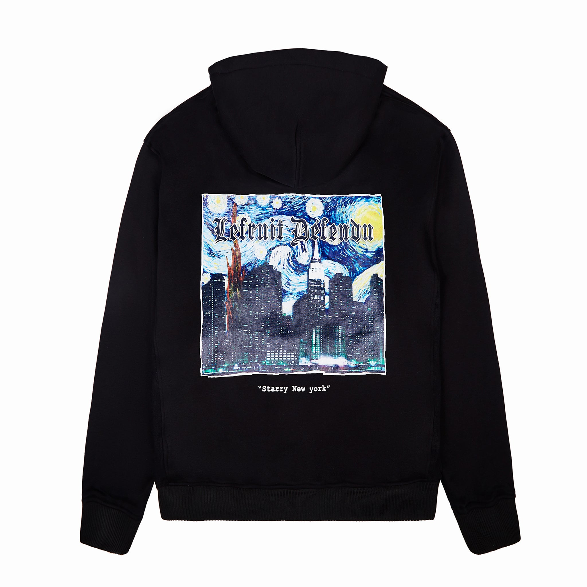Load image into Gallery viewer, LFD Van Gogh Hoodie - Black