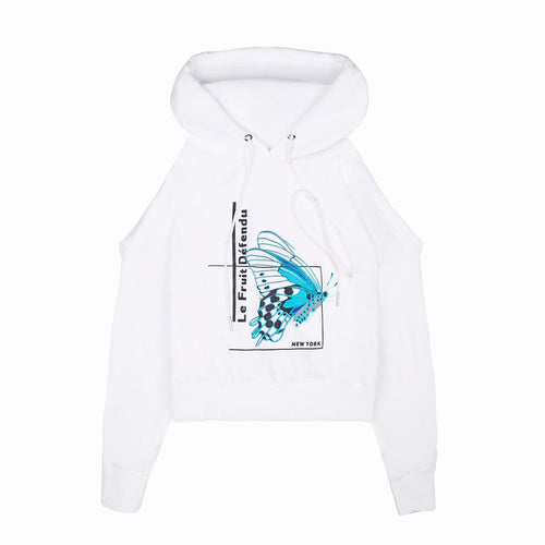 LFD Attack Hoodie - White