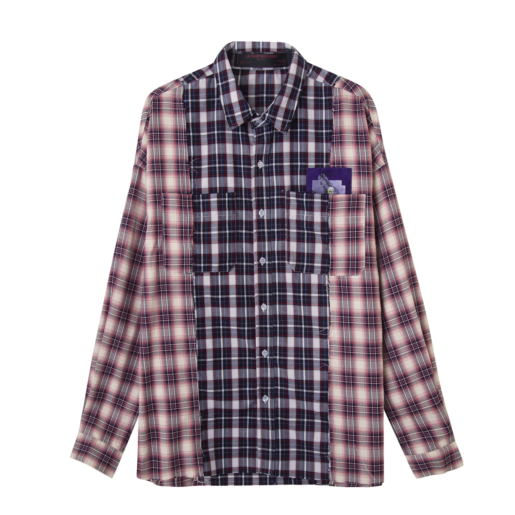 Load image into Gallery viewer, LFD Two-way check shirt