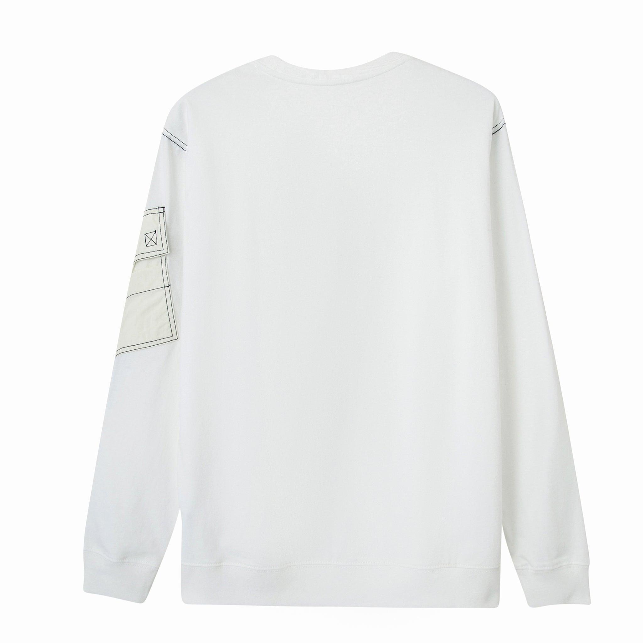 Load image into Gallery viewer, Le Fruit Defendu Pocket Sweatshirt - White