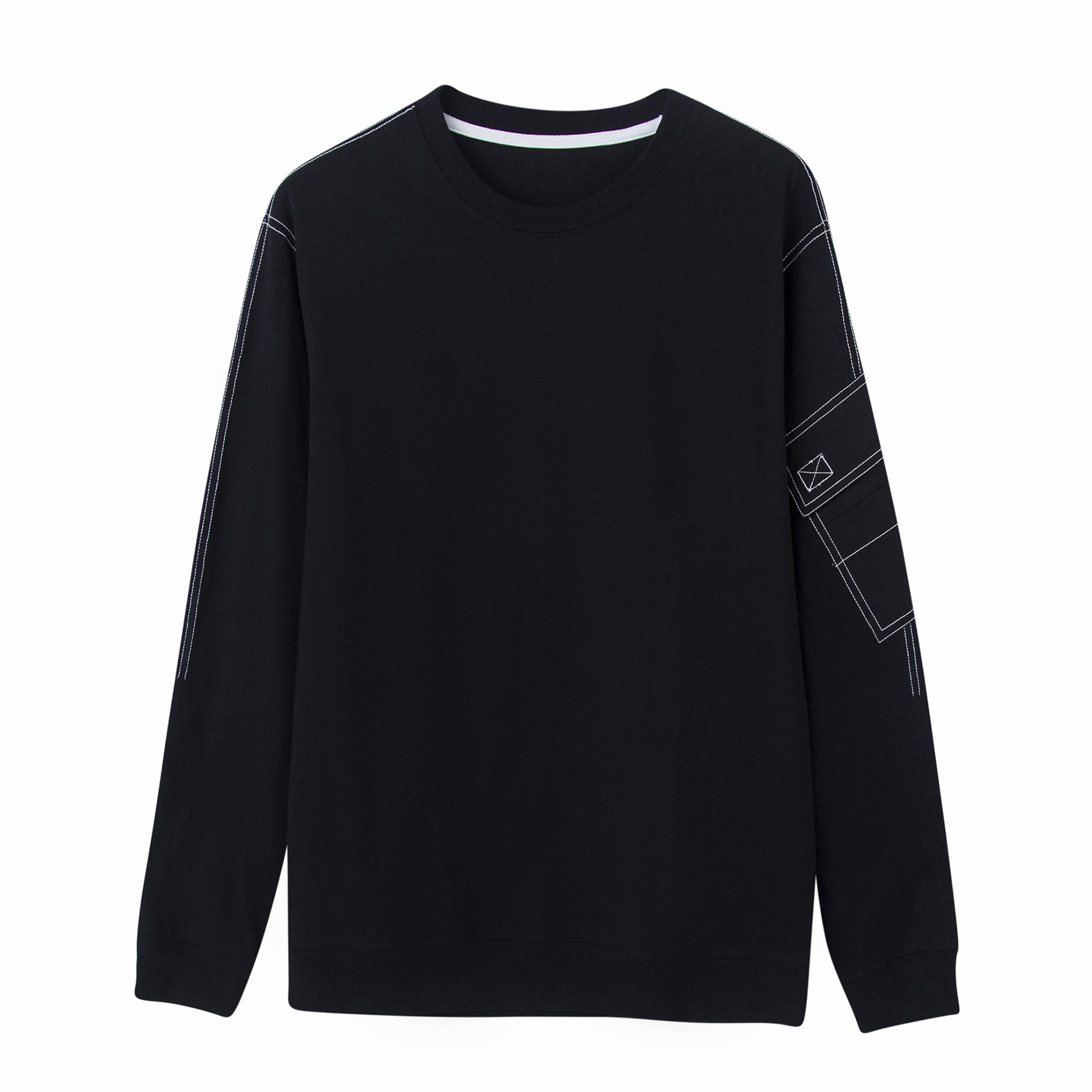 Le Fruit Defendu Pocket Sweatshirt (Black)