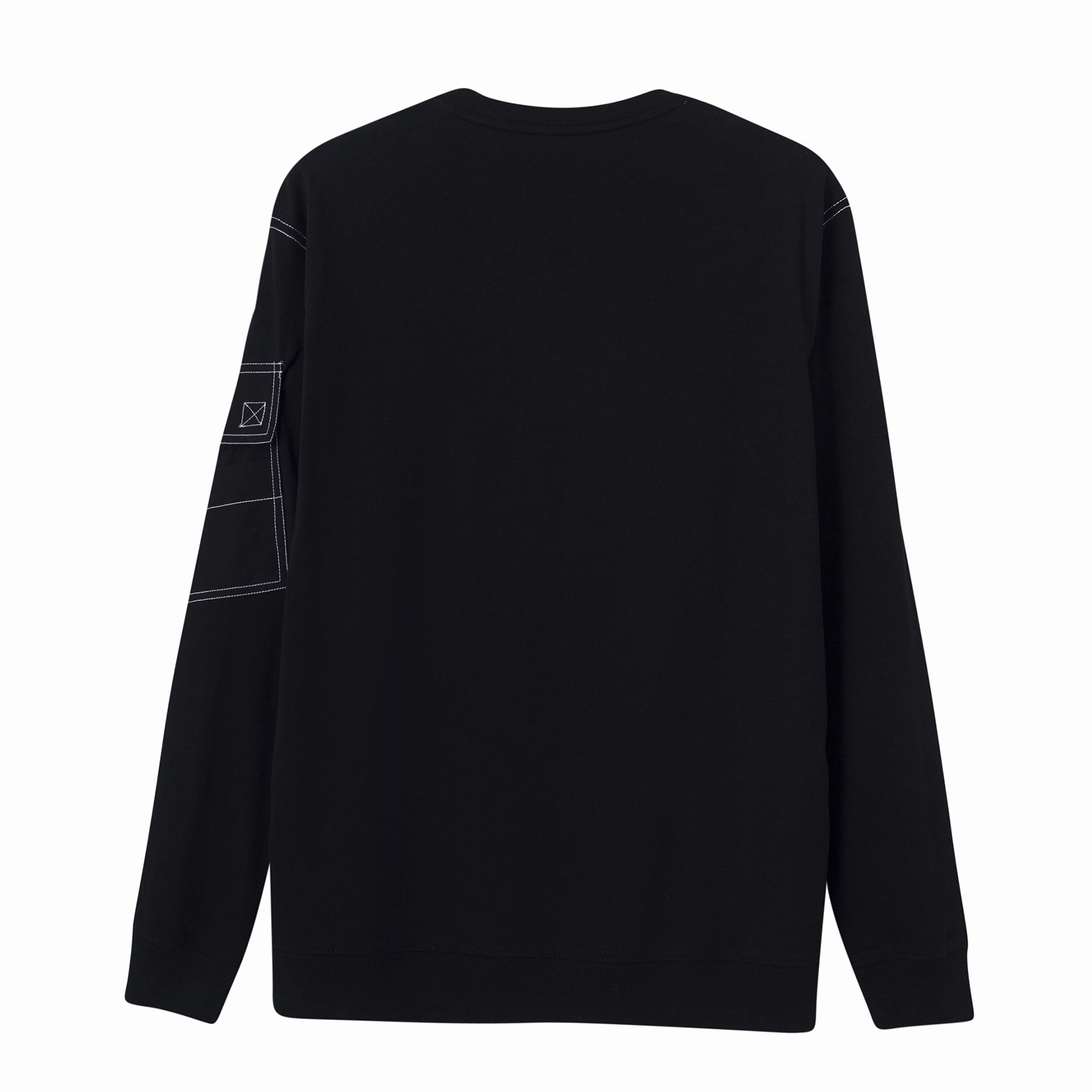 Load image into Gallery viewer, Le Fruit Defendu Pocket Sweatshirt - Black