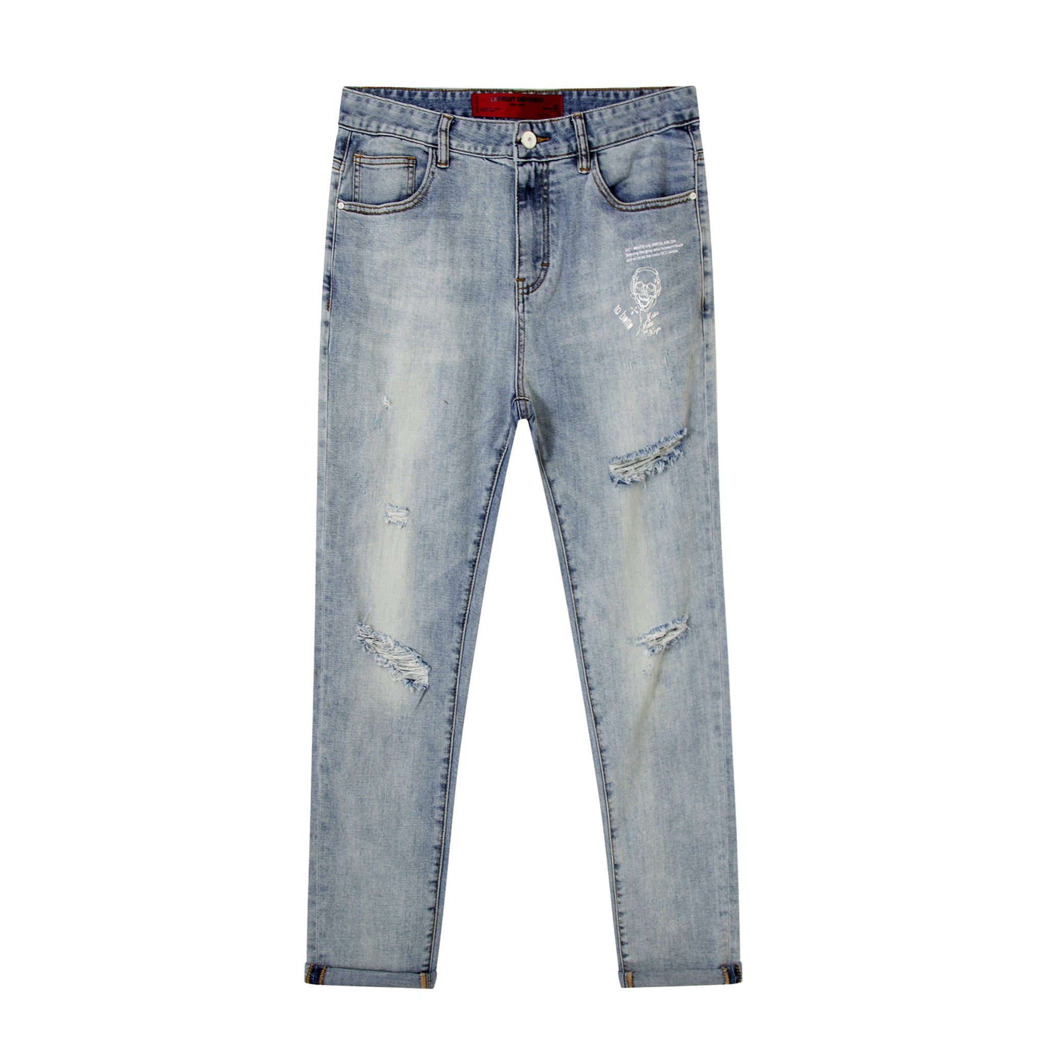 Classic Stone Wash Jeans
