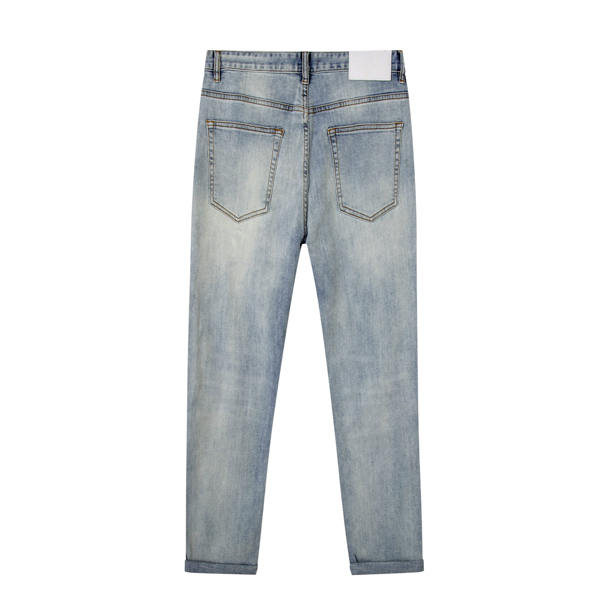 Classic Stone Wash Jeans- Faded
