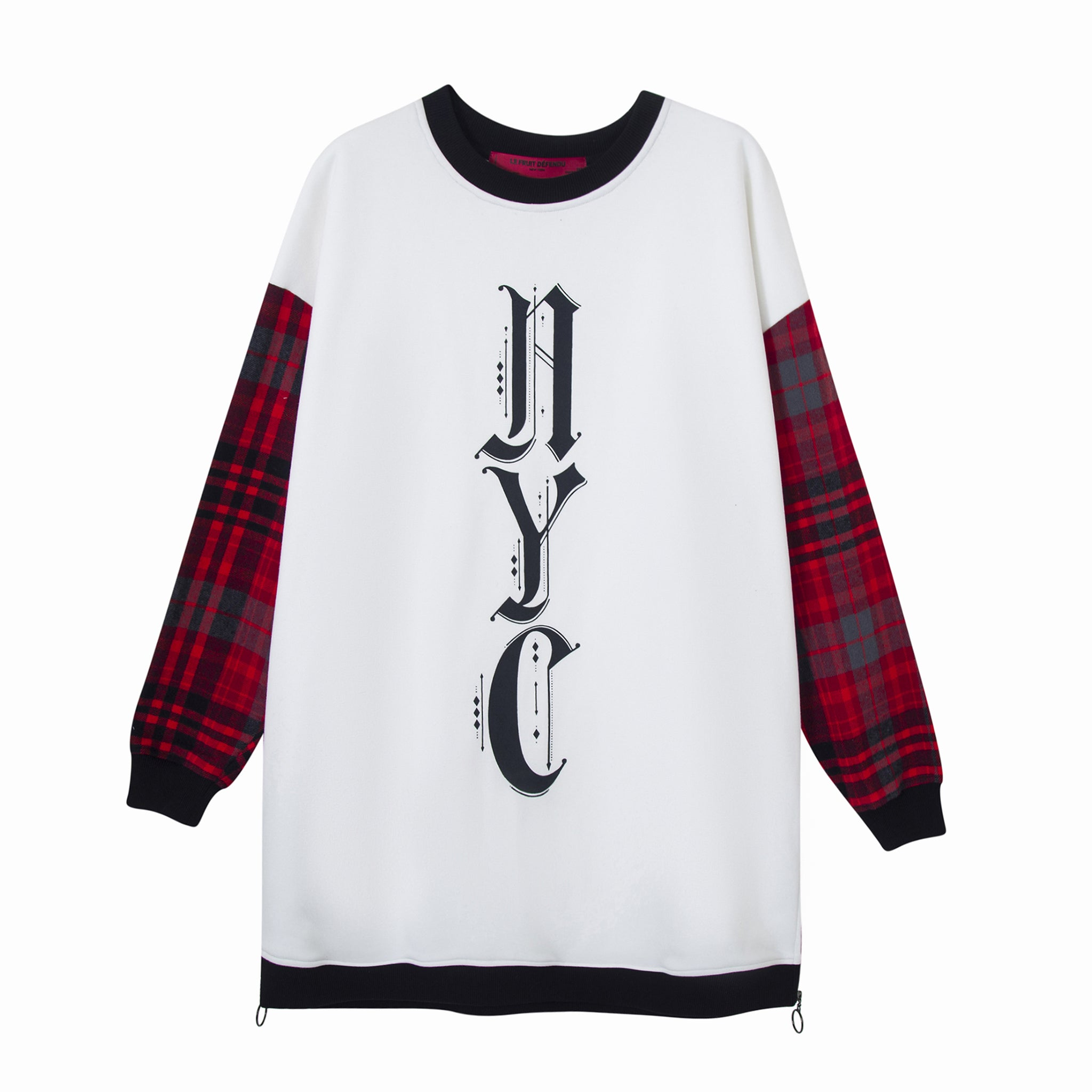 LFD White on Tartan Sweatshirt