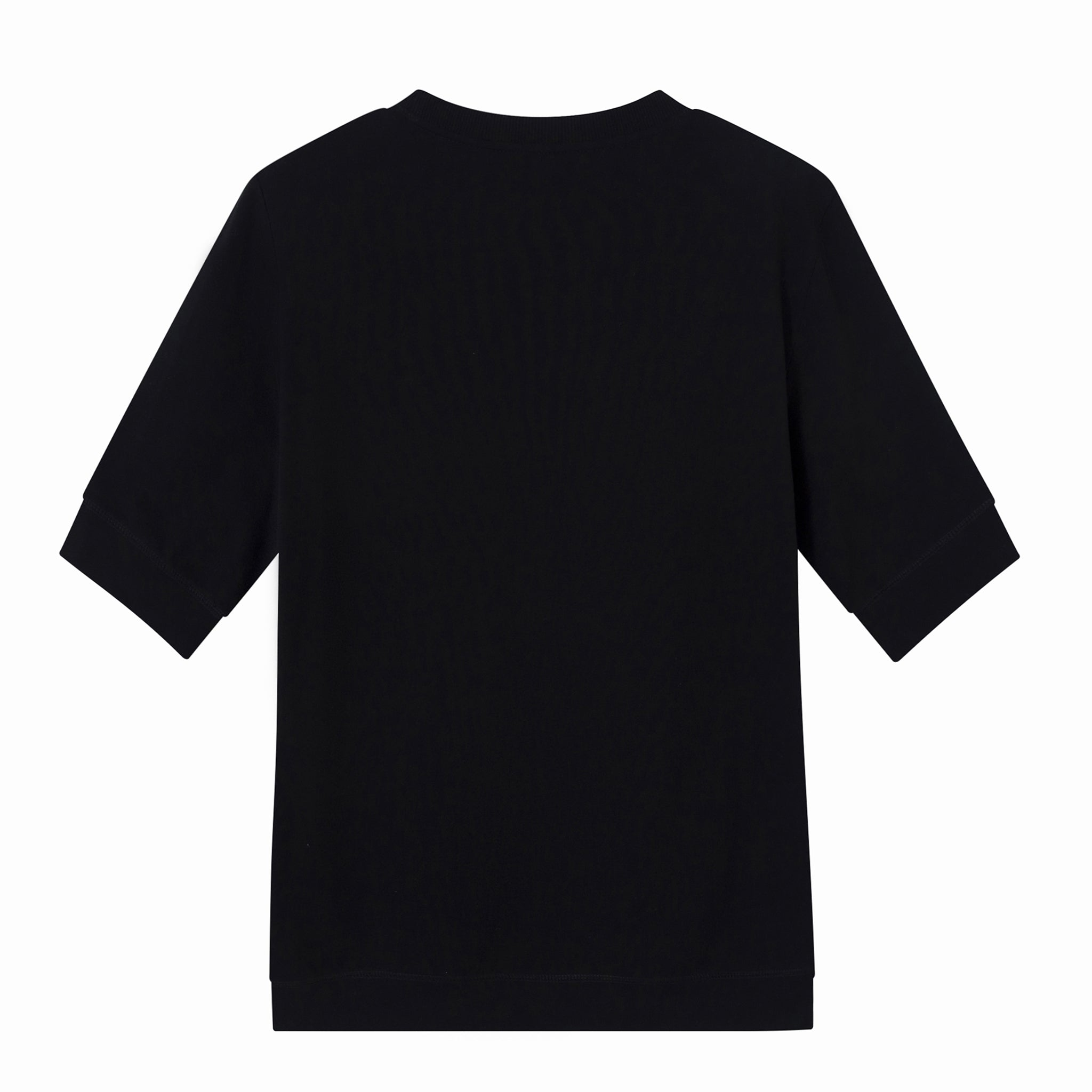 Load image into Gallery viewer, Demon/Chapai half sleeve sweatshirt - Black