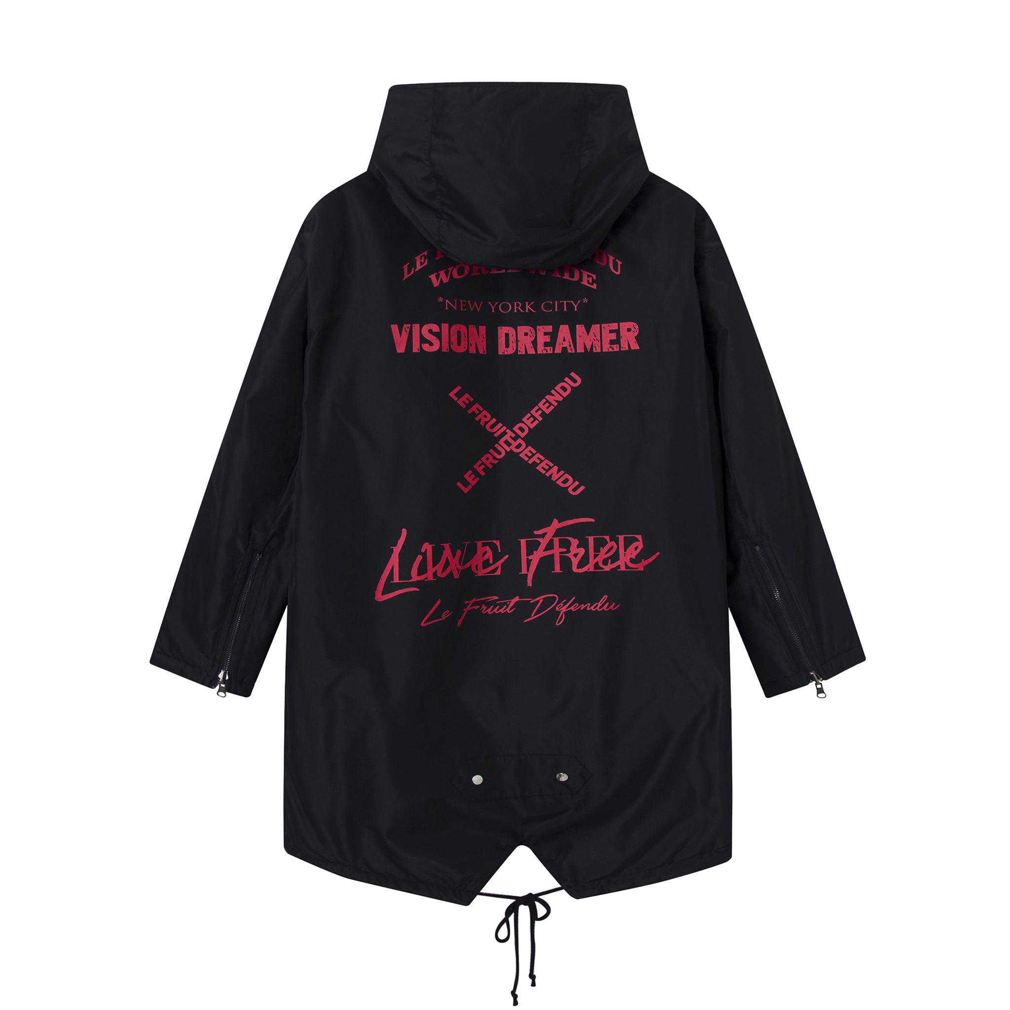 Load image into Gallery viewer, Vision Dreamer Reversible Rain Coat