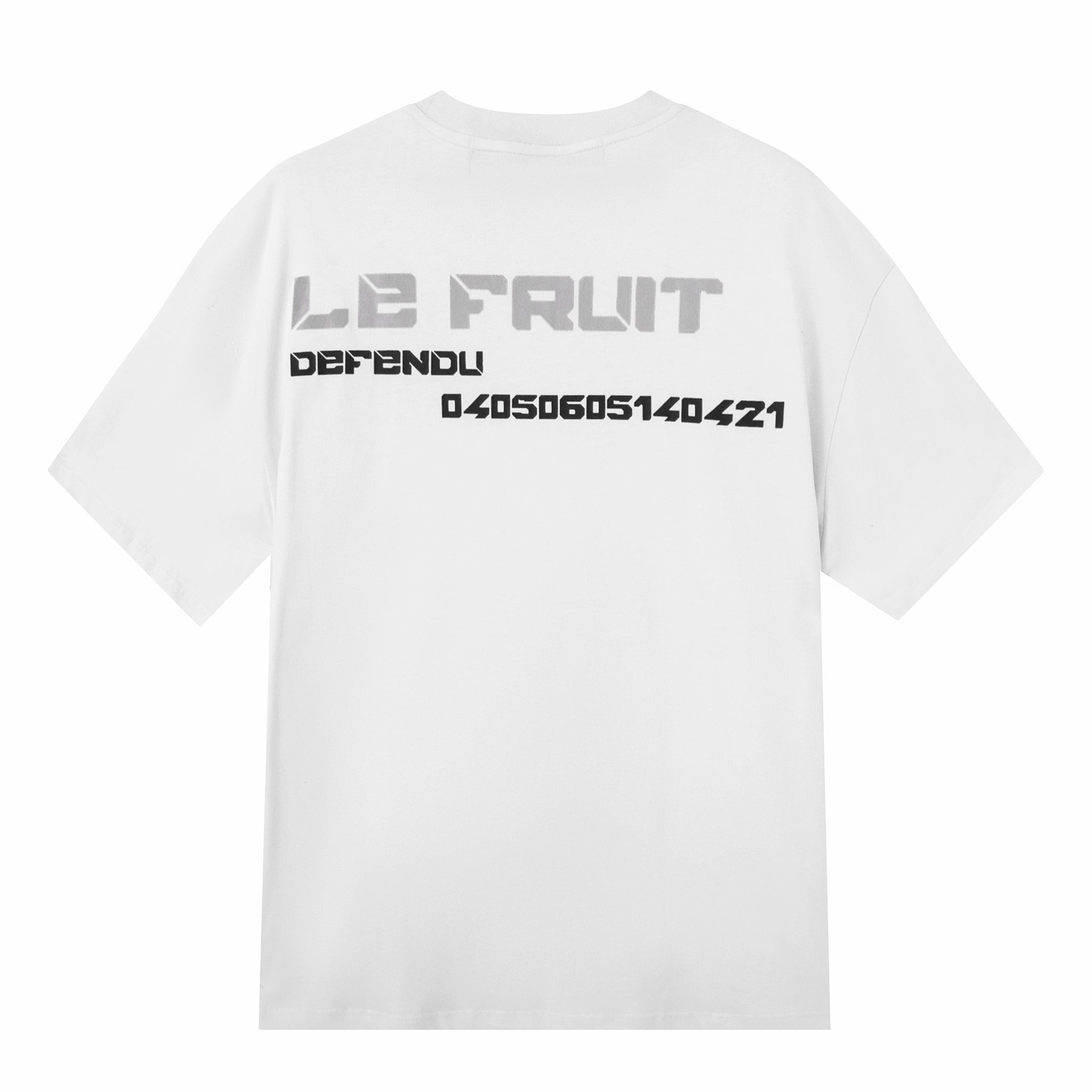 Load image into Gallery viewer, Betrayal – Le Fruit White Number T-Shirt