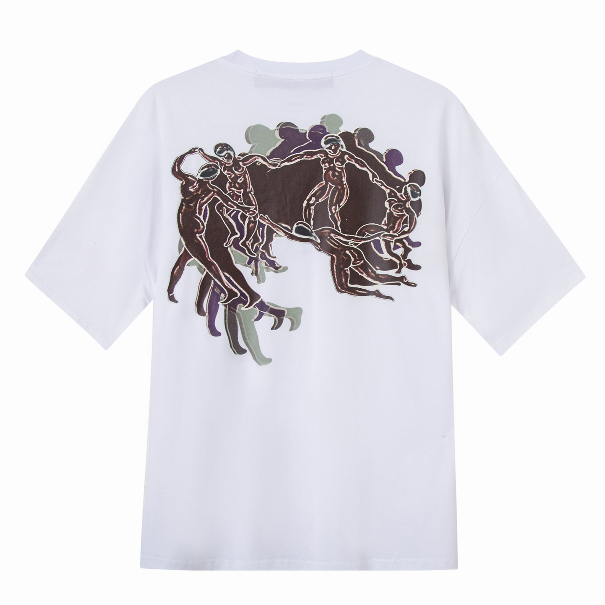 Load image into Gallery viewer, Le Fruit Defendu Ring Dance T-Shirt - White