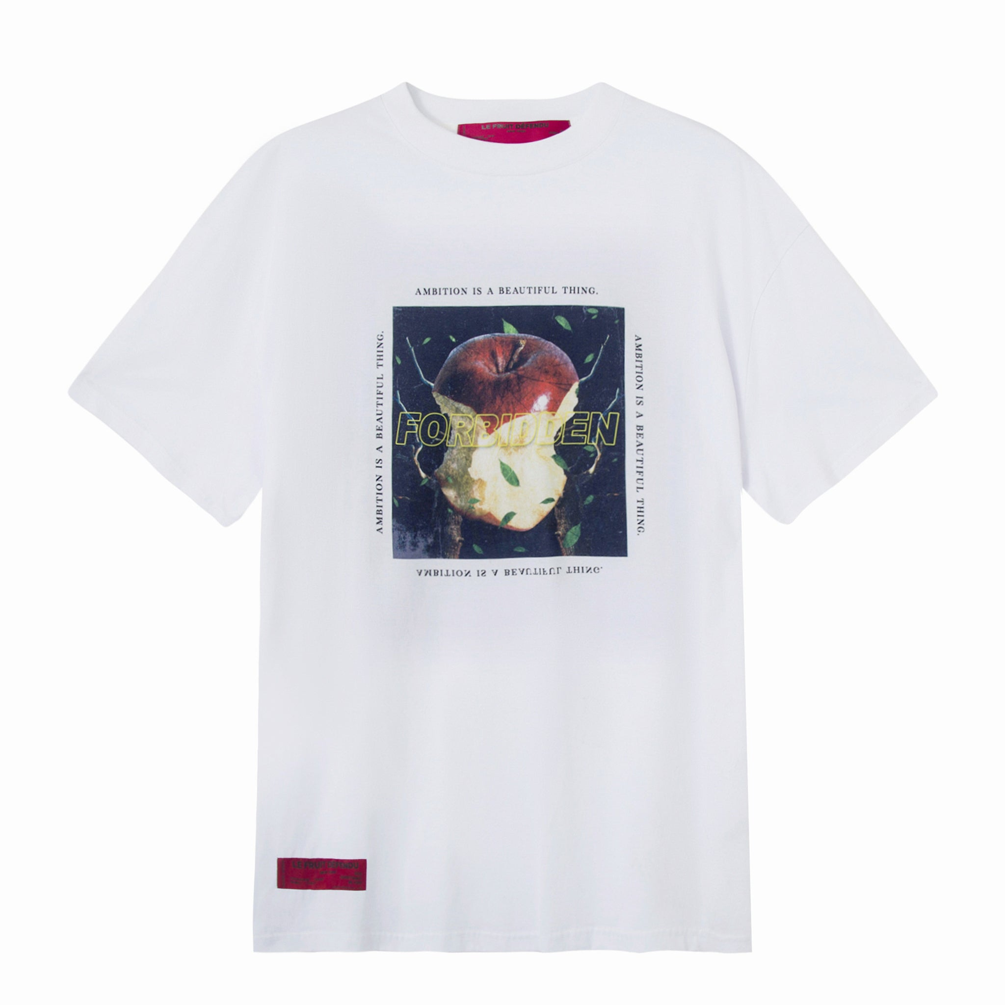 Load image into Gallery viewer, Ambition- White Print T-shirt
