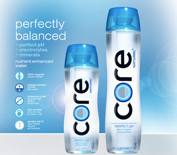 Core Hydration Nutrient Enhanced Water, 30.4 Ounce(Pack of 12)  by Core
