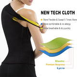 Neoprene Sweat Sauna Body Shapers Vest Waist Trainer Corset