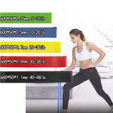 Resistance Bands Rubber Band Latex Yoga Gym Strength Training Athletic Rubber Bands