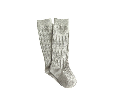 Knee High Socks | Heather Gray