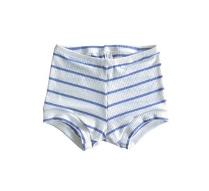 Blue Striped Rib Bummy Shortie 02