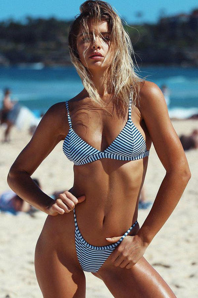 Sexy Stripes 2-Piece Bikini Set