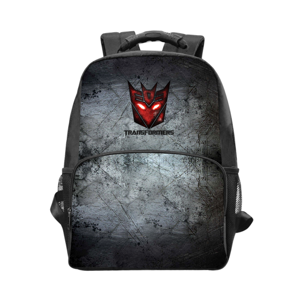 Transformers Grey Laptop Backpack