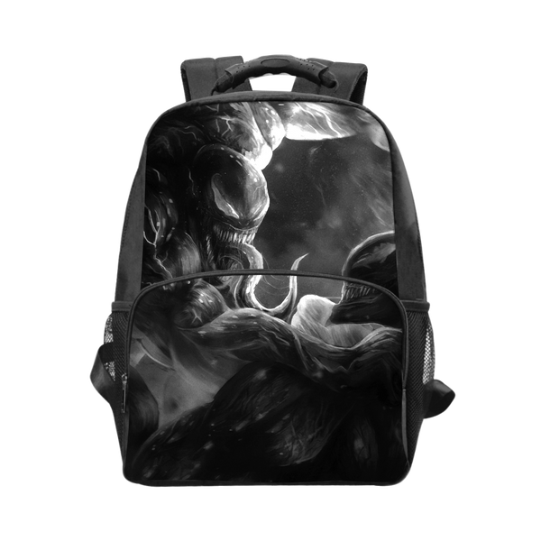 Venom Black Laptop Backpack