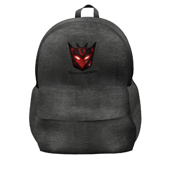 Transformers Black Backpack