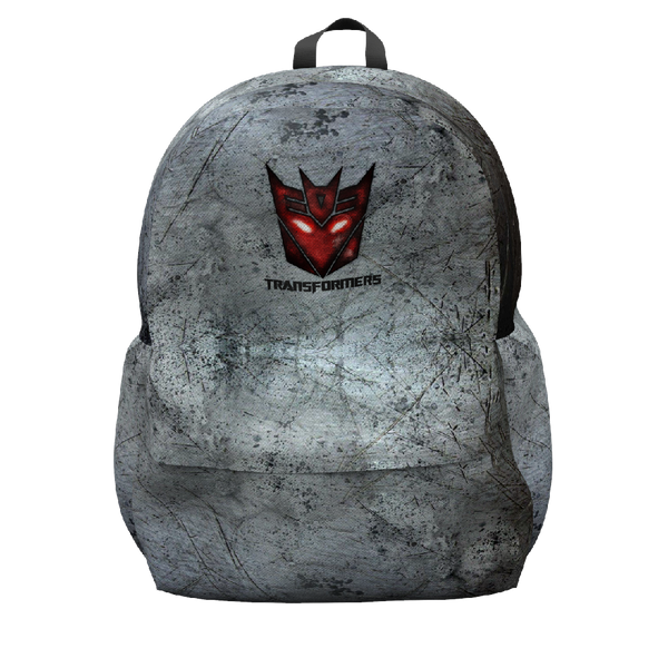 Transformers Grey Backpack