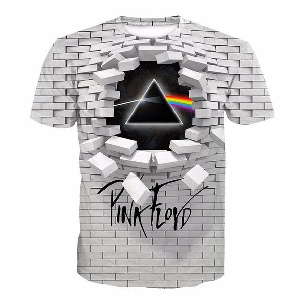 3D Design Wall T-shirt