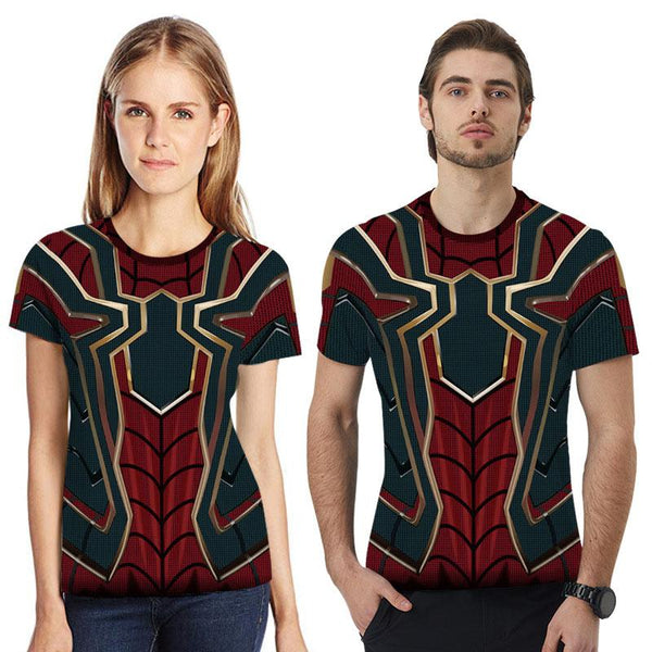 Spiderman Red T-shirt