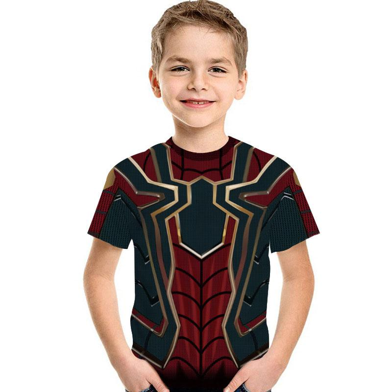 Spiderman Red T-shirt For Kid