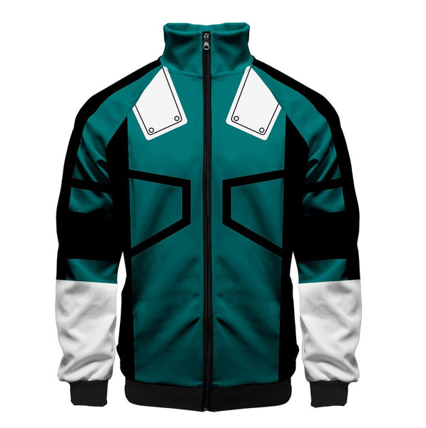 2019 3D My Hero Academia Unisex Jacket - Green