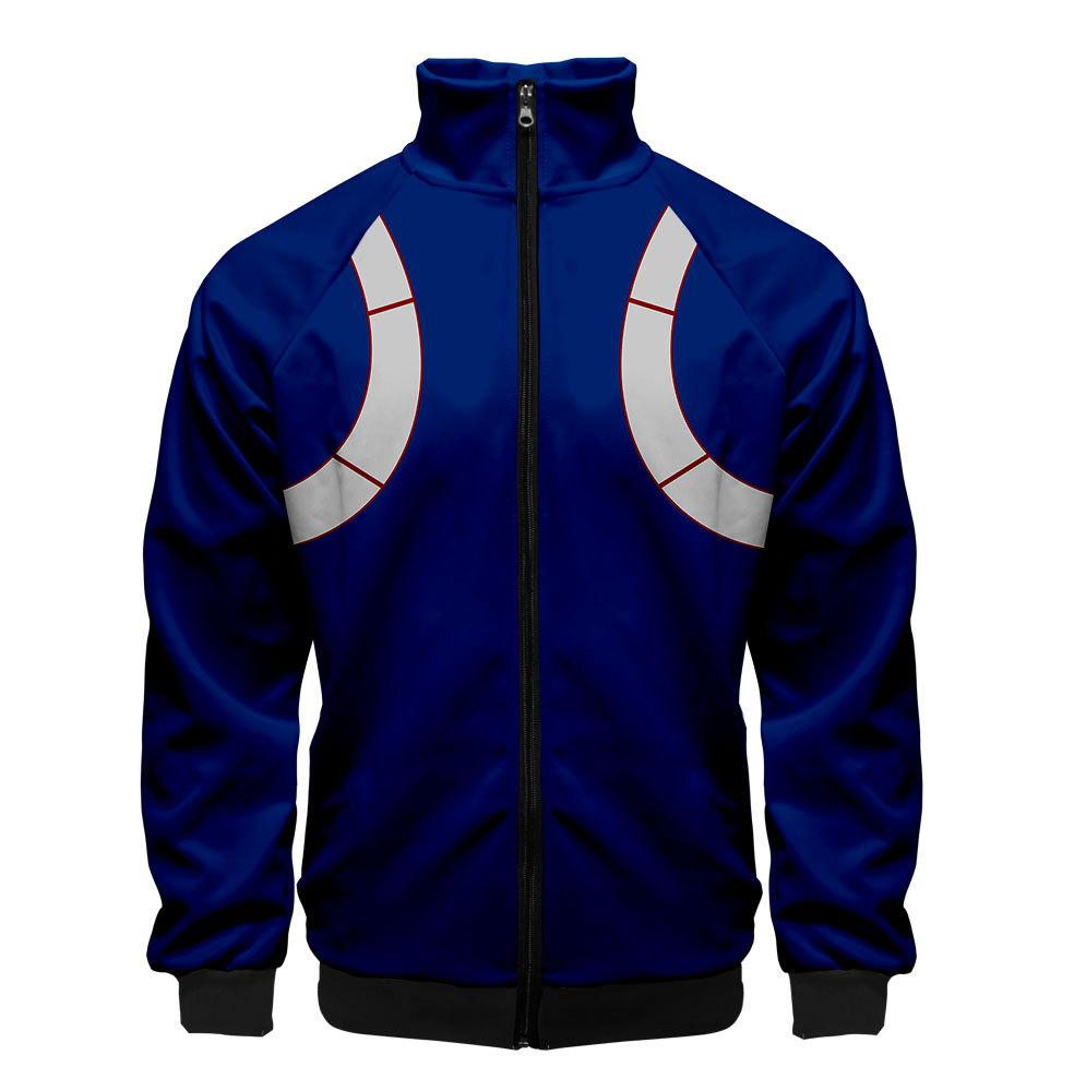 2019 3D My Hero Academia Unisex Jacket - Blue