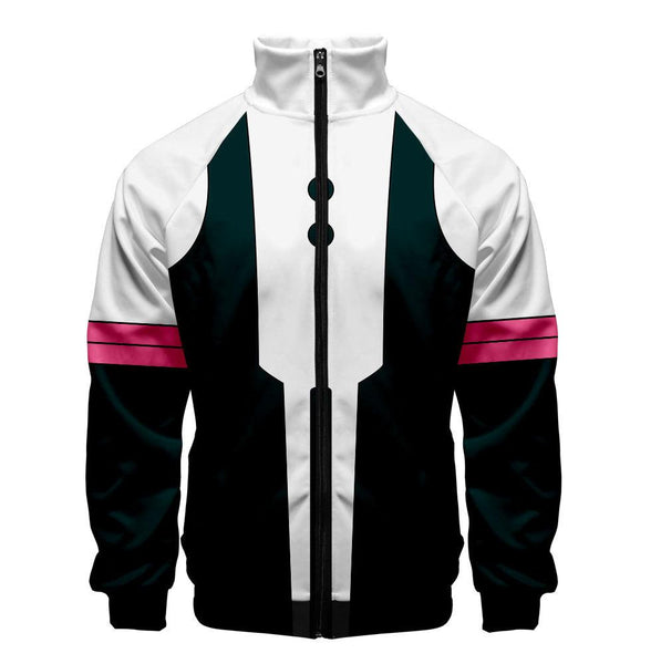 2019 3D My Hero Academia Unisex Jacket - Black and White