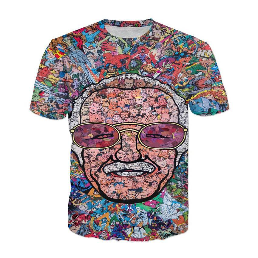 Women's T-Shirt - Stan Lee 3D T-Shirt
